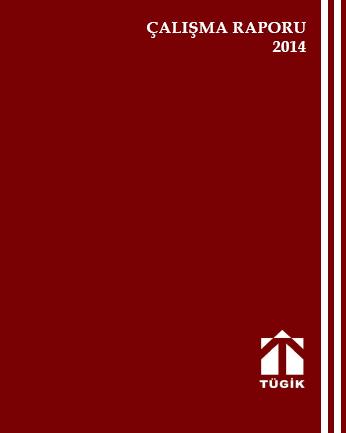 TÜGİK BEŞİNCİ- ALTINCI DÖNEM FAALİYET RAPORU,2014